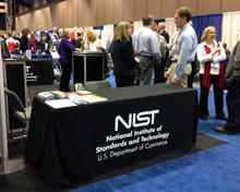 NIST Booth at AAFS February 2014