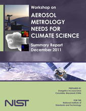 Cover of the Aerosol Metrology workshop report.