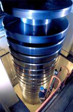 The 4.448 MN (1,000,000 lbf) deadweight machine