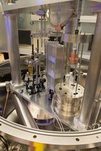view of the inside of NIST-4 watt balance