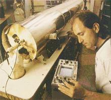 Engineer John Lowe with NIST-7