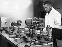 Early laser pioneer Don Jennings.