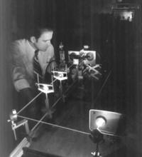 NIST physicist Cary Gravatt