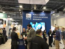 The PSCR booth at CES 2019.