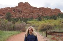 Janiel at Garden of the Gods, Manitou Springs CO