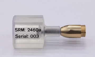 photo of NIST SRM 2460a, a bullet