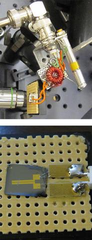 JILA instrument for generating terahertz radiation