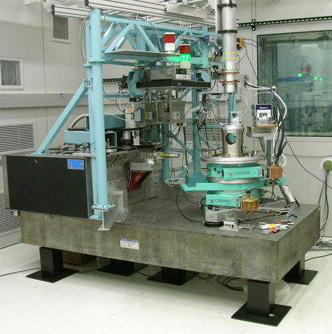 Picture of PBD set up for wavelength measurement