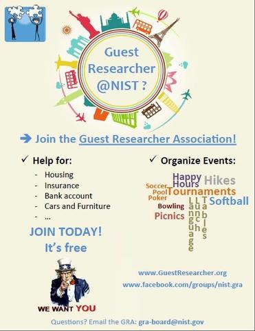 NIST Guest Researcher Poster