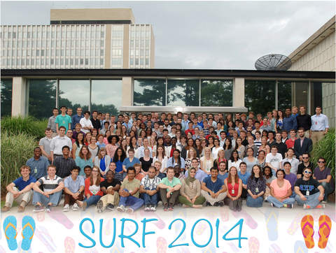 SURF students summer 2014