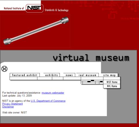 NIST Virtual Museum
