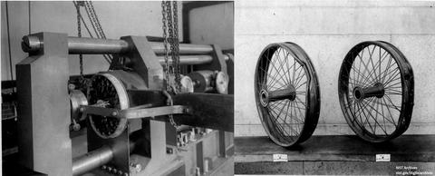 Airplane Wheel Tests 1917-1918