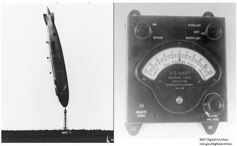 USS Los Angeles Mooring