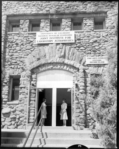 The State Armory Building in Boulder, Colorado, was the first home of JILA