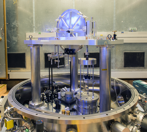 NIST watt balance under construction