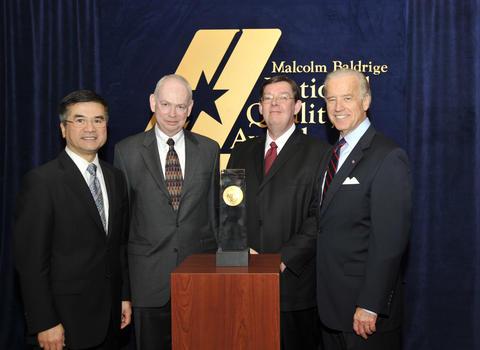 2008 Baldrige award winner Iredell-Statesville Schools.