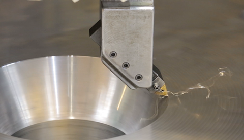 Minor machining of a component