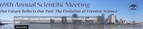 2017 69th AAFS Annual Meeting