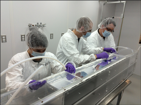 PROSPECT clean room