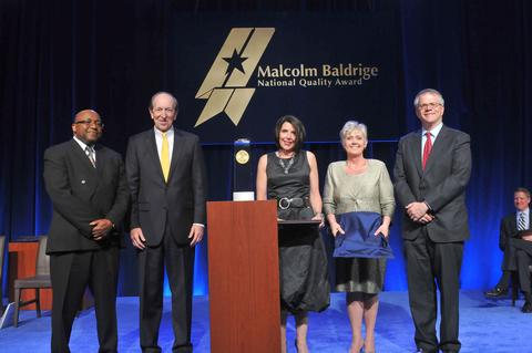 Hill Country Memorial Photo - Baldrige Award Ceremony for 2014 Recipients