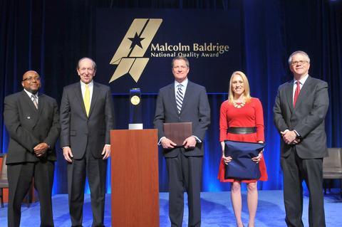 PwC PSP Photo - Baldrige Award Ceremony for 2014 Recipients