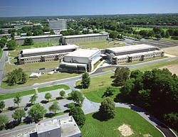 Aerial View of NIST campus