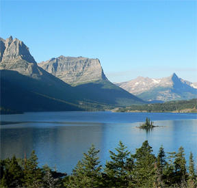 Saint Mary Lake (Lake in Glacier National Park, in the U. S. state of Montana)
