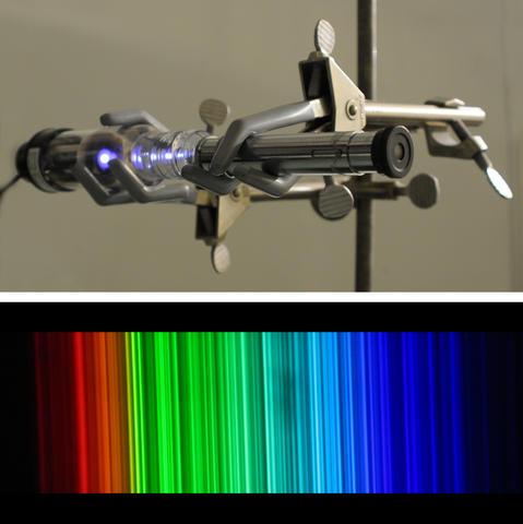 thorium emission lamp
