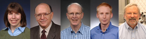 Headshots of NIST 2015 APS award winners