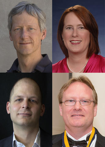 Headshot photos of Flemming Award recipients