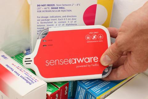 Senseaware device