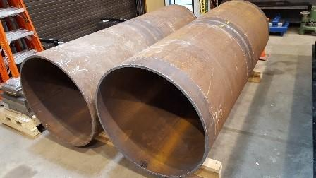 Girth Welded Pipes received at NIST