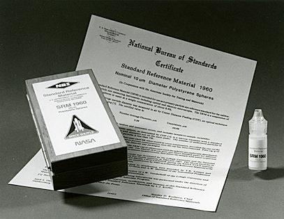 Photo of SRM 1960, the first product made in space