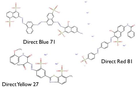 Forensics chemical structures