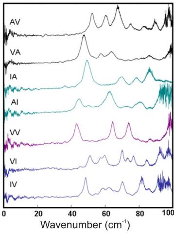 Terahertz absorption spectra