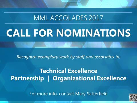MML Accolades Cover