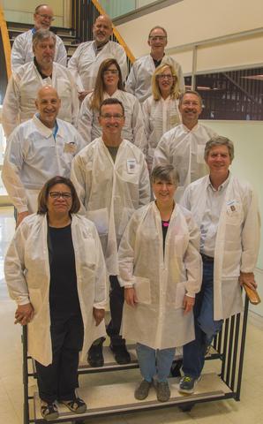 Vapor Sampling and Characterization Lab Coats