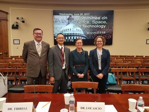 Locascio Testifies to Congress on Advanced Materials
