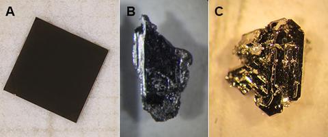 Superconductor crystals