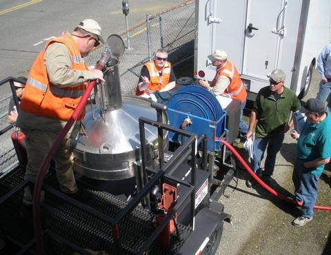 Gas prover training in the field
