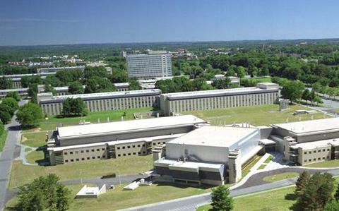 Aerial photo of NIST Gaitherburg