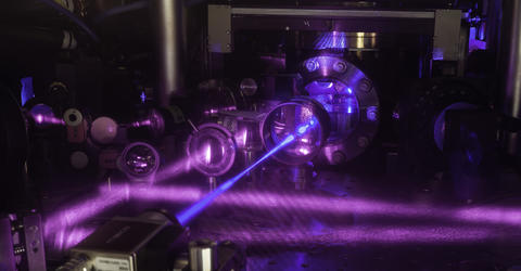 photo of strontium atomic clock