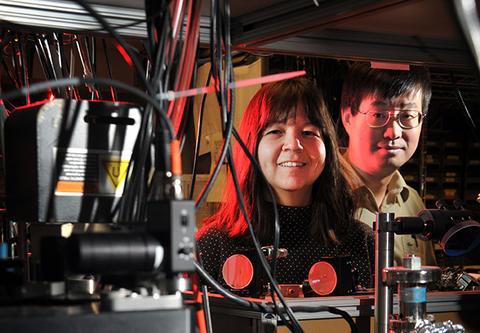 Jun Ye and Deborah Jin