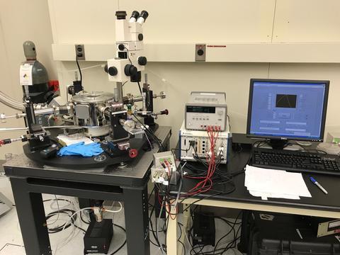 Nanocalorimeter Measurement System
