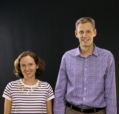 Cindy Regal and Konrad Lehnert