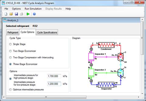 Cycle_D-HX Program Properties