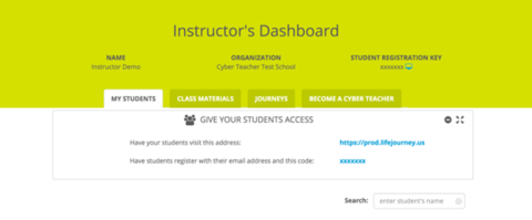 Day of Cyber dashboard example