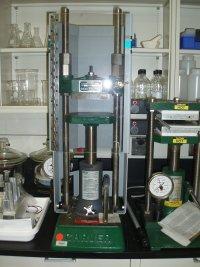 Carver Model C Laboratory Press