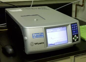 Dynapro NanoStar Dynamic Light Scattering (DLS) Instrument