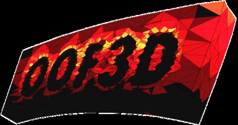 OOF3D Logo